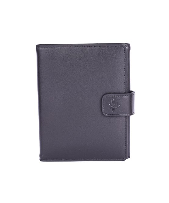 Aurumey Passport Holder duo black