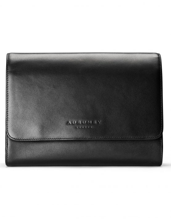 image of black washbag